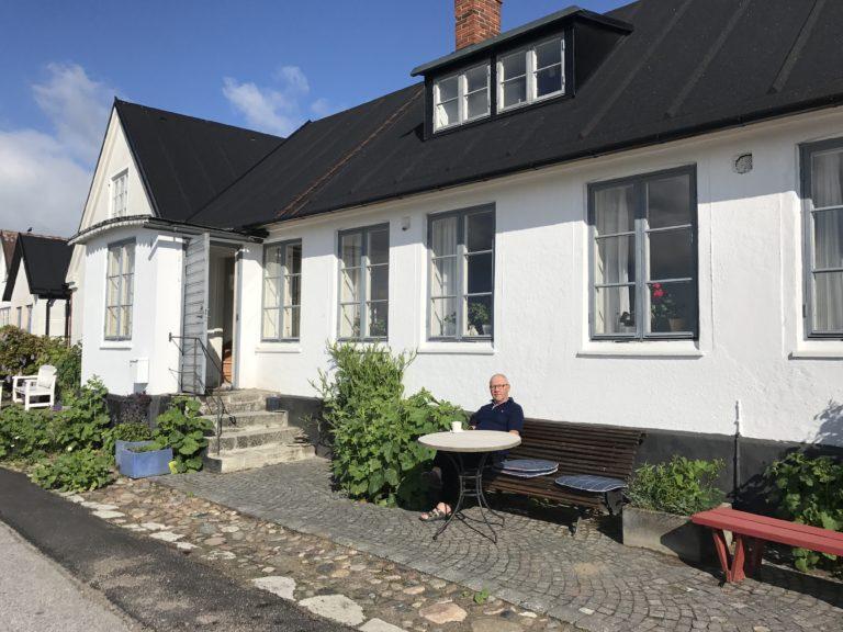 """Tillbaka i """"vårt"""" hus i Skillinge"""