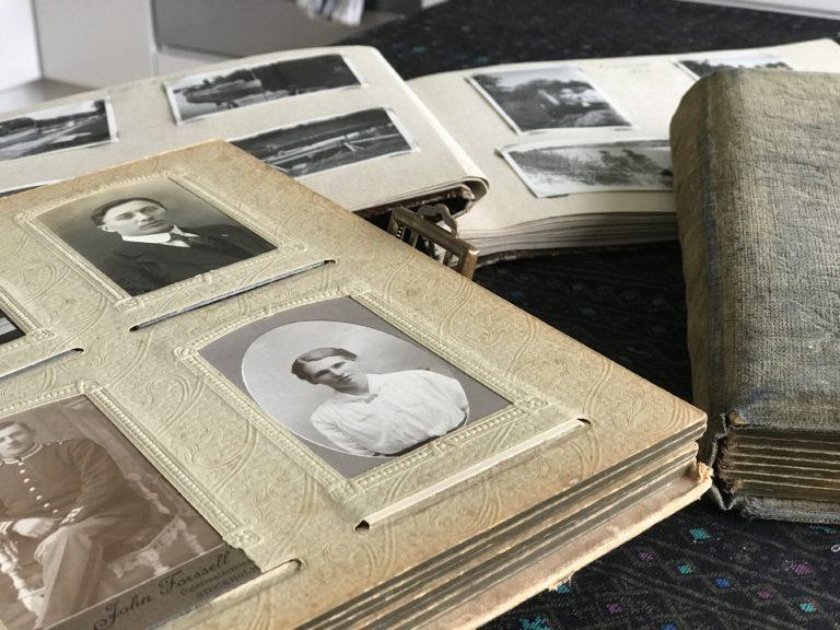 Foton som berättar släkthistoria